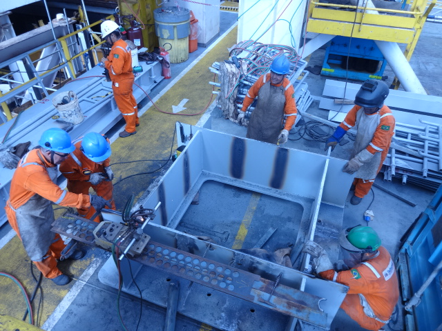 Resultado de imagem para AASJ Manutenção e Reparos Offshore